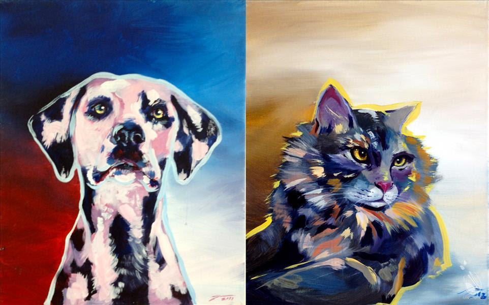 Humane Society Of Loudoun County Paint Your Pet At Painting With A Twist In Ashburn Humane Society Of Loudoun County