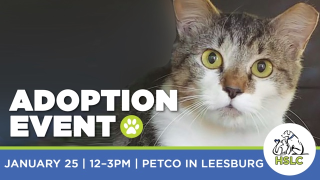 Humane Society of Loudoun County Adoption Event at Petco in